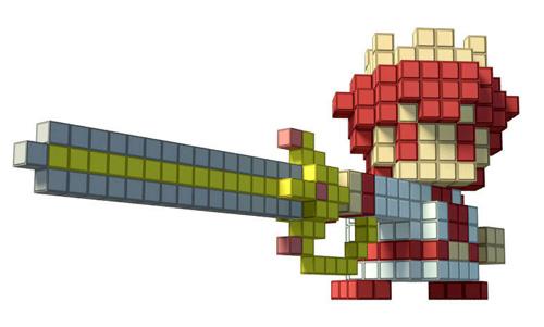 pixel art epee zelda